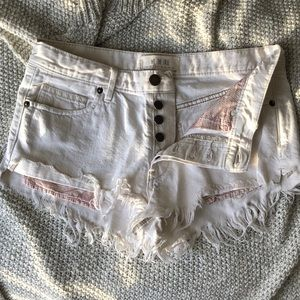 Free people🌸Festival shorts size 26